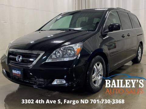 2007 Honda Odyssey for sale at Bailey's Auto Sales in Fargo ND