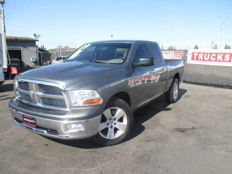 2009 Dodge Ram Pickup 1500 for sale at Quick Auto Sales in Modesto CA