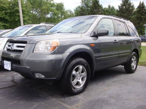 2008 Honda Pilot for sale at Jay's Auto Sales Inc in Wadsworth OH