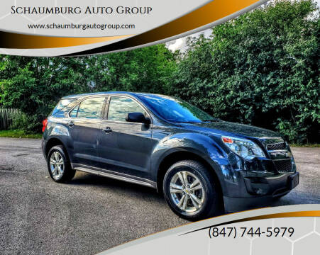 2012 Chevrolet Equinox for sale at Schaumburg Auto Group in Schaumburg IL