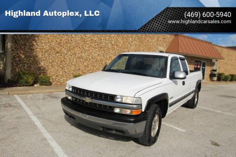 2002 Chevrolet Silverado 1500 for sale at Highland Autoplex, LLC in Dallas TX