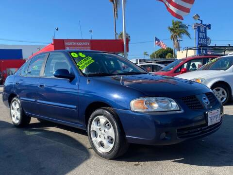 2006 Nissan Sentra for sale at North County Auto in Oceanside CA
