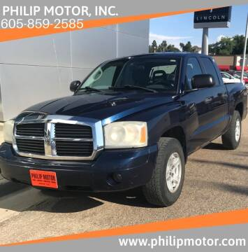 2006 Dodge Dakota for sale at Philip Motor Inc in Philip SD