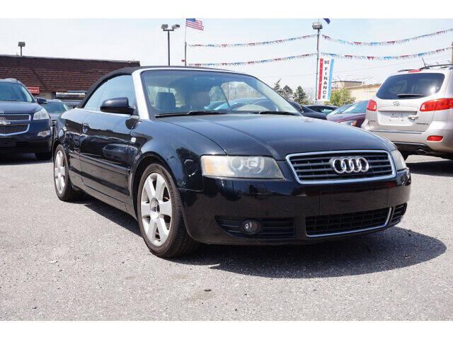 2006 Audi A4 for sale at Sunrise Used Cars INC in Lindenhurst NY