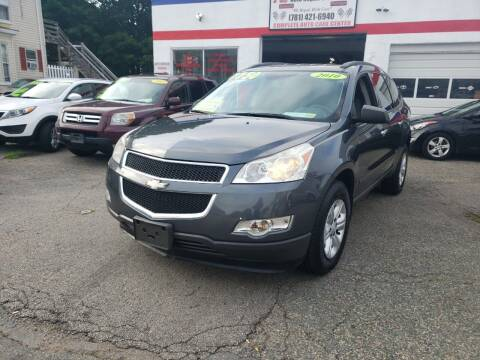 2010 Chevrolet Traverse for sale at TC Auto Repair and Sales Inc in Abington MA