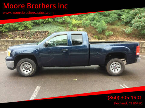 2009 GMC Sierra 1500 for sale at Moore Brothers Inc in Portland CT