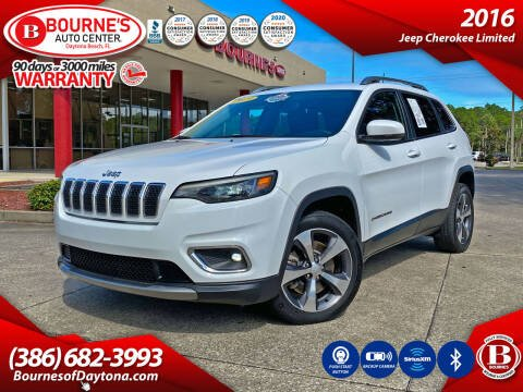 2019 Jeep Cherokee for sale at Bourne's Auto Center in Daytona Beach FL