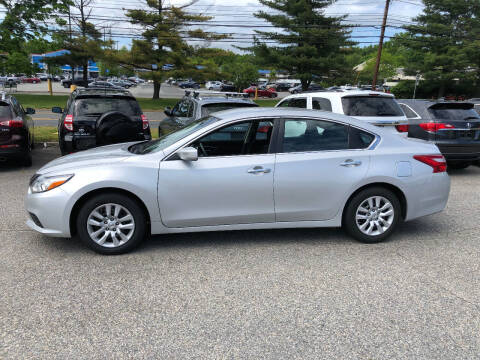 2017 Nissan Altima for sale at Matrone and Son Auto in Tallman NY