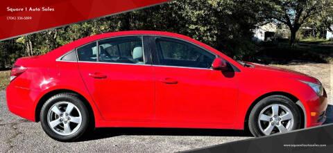 2014 Chevrolet Cruze for sale at Square 1 Auto Sales - Commerce in Commerce GA