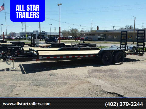 2021 H&H 22 FOOT FLATBED for sale at ALL STAR TRAILERS Flatbeds in , NE