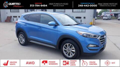2018 Hyundai Tucson for sale at Quattro Motors 2 - 1 in Redford MI