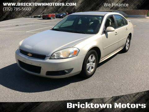 2010 Chevrolet Impala for sale at Bricktown Motors in Brick NJ