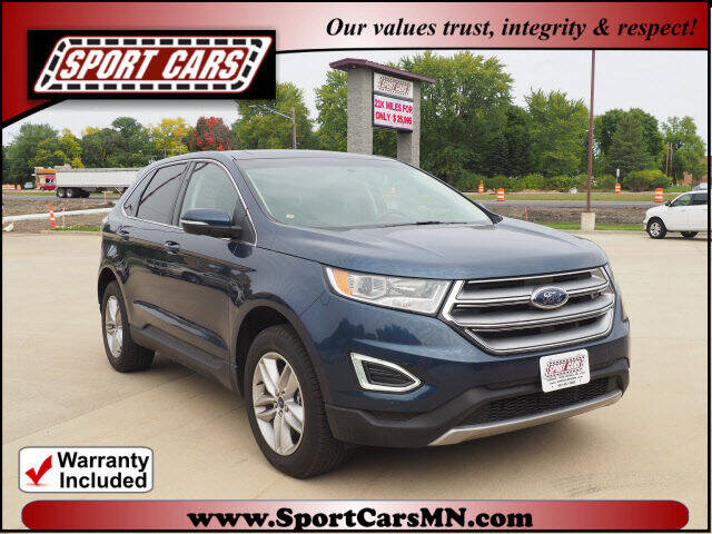 2017 Ford Edge for sale at SPORT CARS in Norwood MN