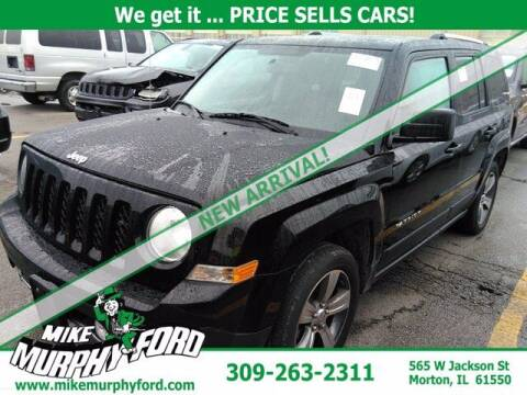 2017 Jeep Patriot for sale at Mike Murphy Ford in Morton IL