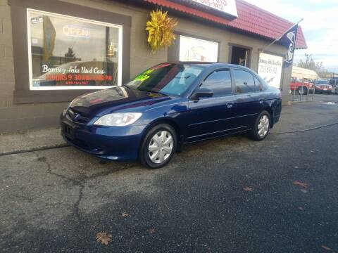 2004 Honda Civic for sale at Bonney Lake Used Cars in Puyallup WA