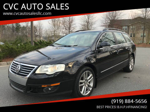 2008 Volkswagen Passat for sale at CVC AUTO SALES in Durham NC