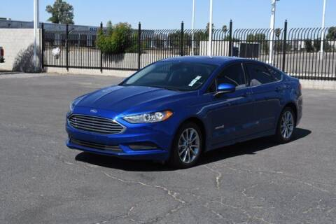 2017 Ford Fusion Hybrid for sale at Choice Motors in Merced CA