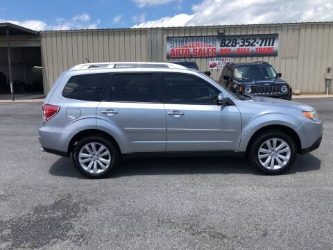 2012 Subaru Forester for sale at Stikeleather Auto Sales in Taylorsville NC
