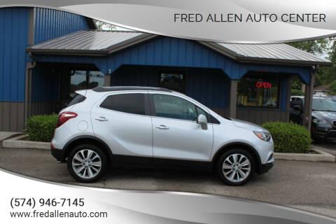 2017 Buick Encore for sale at Fred Allen Auto Center in Winamac IN