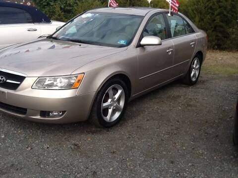 2007 Hyundai Sonata for sale at Lance Motors in Monroe Township NJ