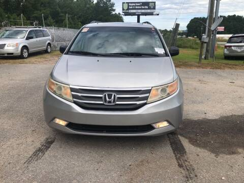 2012 Honda Odyssey for sale at County Line Car Sales Inc. in Delco NC