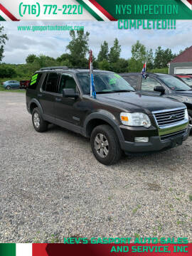 2006 Ford Explorer for sale at KEV'S GASPORT AUTO SALES AND SERVICE, INC in Gasport NY