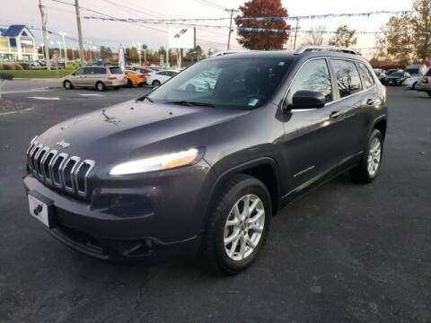 2016 Jeep Cherokee for sale at Hi-Lo Auto Sales in Frederick MD