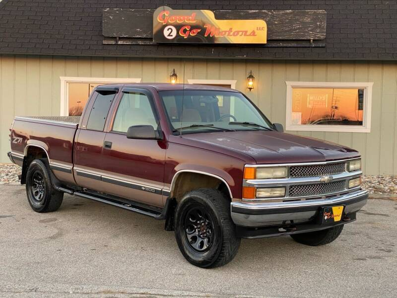 1998 Chevrolet C/K 1500 Series for sale at Good 2 Go Motors LLC in Adrian MI