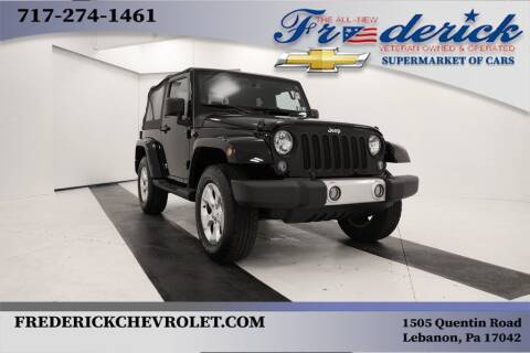 2014 Jeep Wrangler for sale at Lancaster Pre-Owned in Lancaster PA