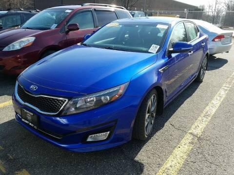 2015 Kia Optima for sale at Cj king of car loans/JJ's Best Auto Sales in Troy MI
