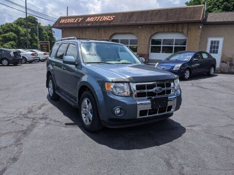 2010 Ford Escape for sale at Worley Motors in Enola PA
