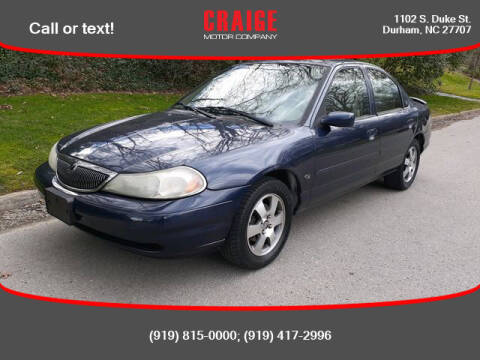 1999 Mercury Mystique for sale at CRAIGE MOTOR CO in Durham NC
