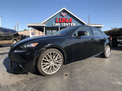2015 Lexus IS 250 for sale at LUNA CAR CENTER in San Antonio TX