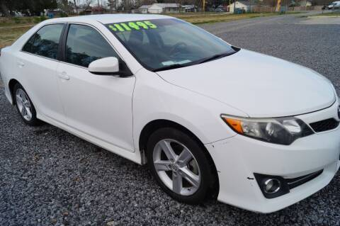 2013 Toyota Camry for sale at Deaux Enterprises, LLC. in Saint Martinville LA