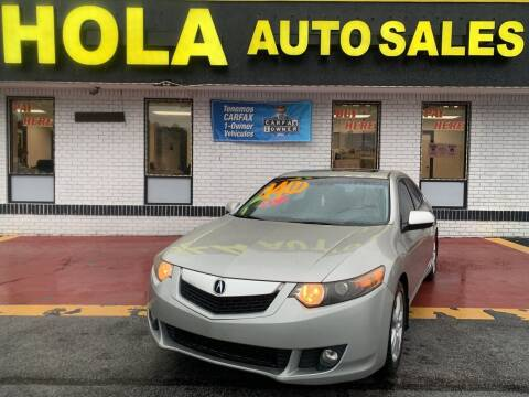 2010 Acura TSX for sale at HOLA AUTO SALES CHAMBLEE- BUY HERE PAY HERE - in Atlanta GA