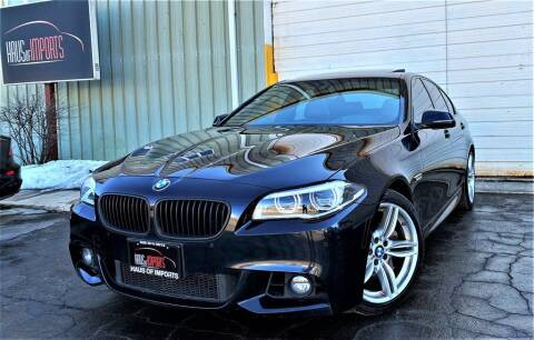 2016 BMW 5 Series for sale at Haus of Imports in Lemont IL