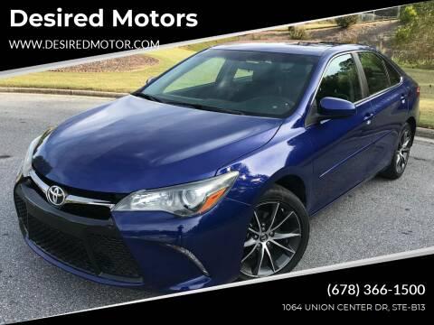 2015 Toyota Camry for sale at Desired Motors in Alpharetta GA
