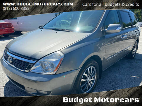 2011 Kia Sedona for sale at Budget Motorcars in Tampa FL