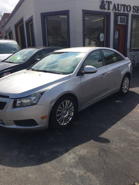 2013 Chevrolet Cruze for sale at B&T Auto Service in Syracuse NY