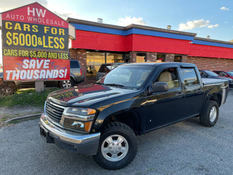 2008 GMC Canyon for sale at HW Auto Wholesale in Norfolk VA