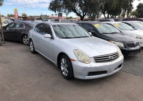 2006 Infiniti G35 for sale at Valley Auto Center in Phoenix AZ