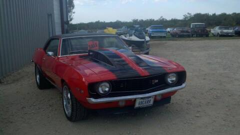 1969 Chevrolet Camaro for sale at CLASSIC MOTOR SPORTS in Winters TX