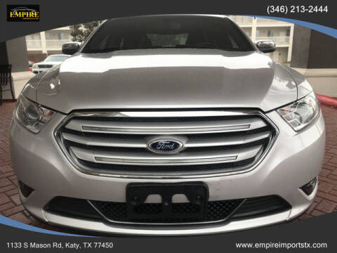 2013 Ford Taurus for sale at EMPIREIMPORTSTX.COM in Katy TX