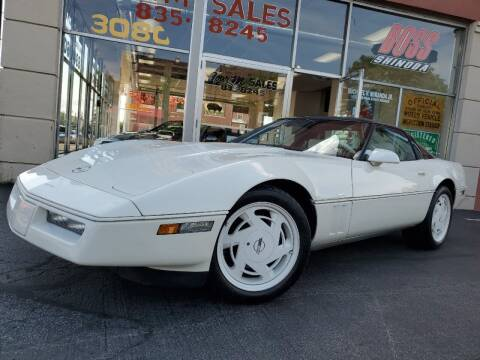 1988 Chevrolet Corvette for sale at FOUR M SALES in Buffalo NY