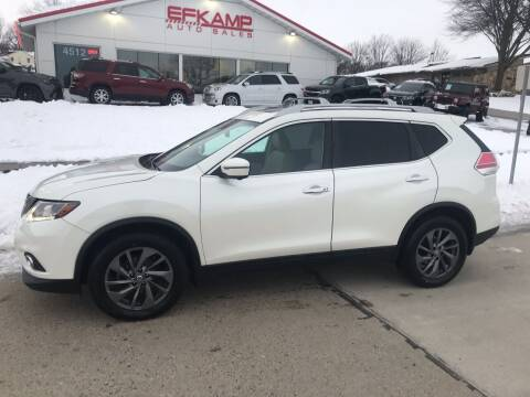 2016 Nissan Rogue for sale at Efkamp Auto Sales LLC in Des Moines IA