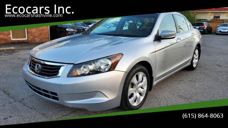 2009 Honda Accord for sale at Ecocars Inc. in Nashville TN