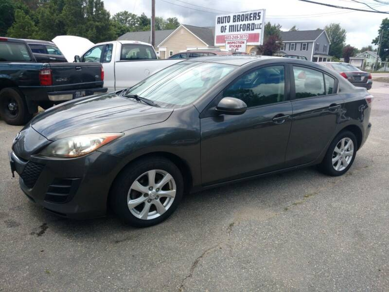 2010 Mazda MAZDA3 for sale at Auto Brokers of Milford in Milford NH