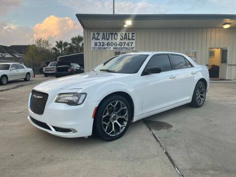 2018 Chrysler 300 for sale at AZ Auto Sale in Houston TX