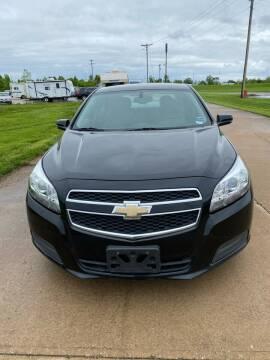 2013 Chevrolet Malibu for sale at MJ'S Sales in O'Fallon MO
