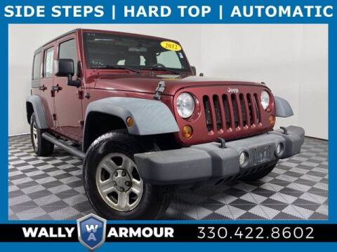 2012 Jeep Wrangler Unlimited for sale at Wally Armour Chrysler Dodge Jeep Ram in Alliance OH
